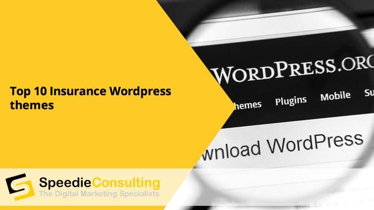 Top 10 Insurance WordPress Themes
