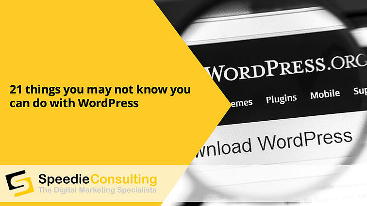 21 things you may not know you can do with Wordpress