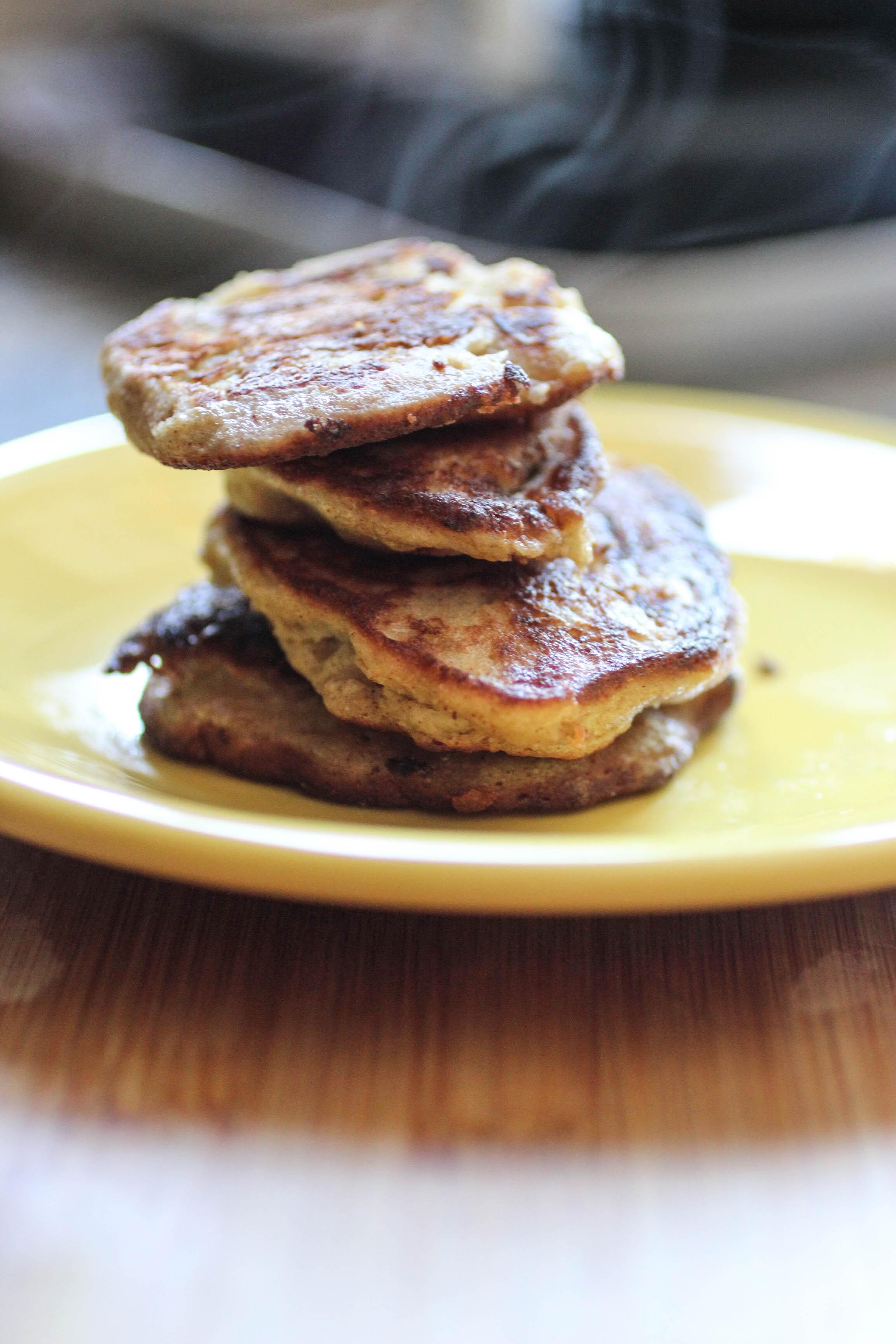 No flour banana pancakes