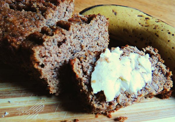 Tasty Grain-Free Organic Coconut Flour Banana Bread | Radiant Life Blog