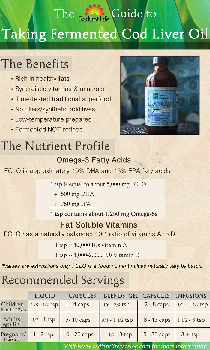 Fermented cod liver oil how much should i take for How much fish oil should you take