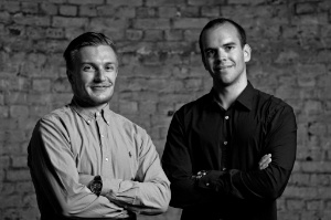 Smarp Founders Mikael & Roope in 2012