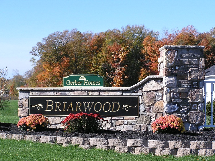 Briarwood Sign Webster Ny Community