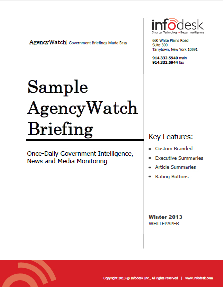AgencyWatch Sample Briefing