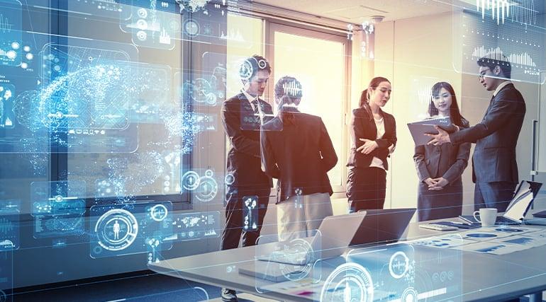 AI In Modern Digital workplacae