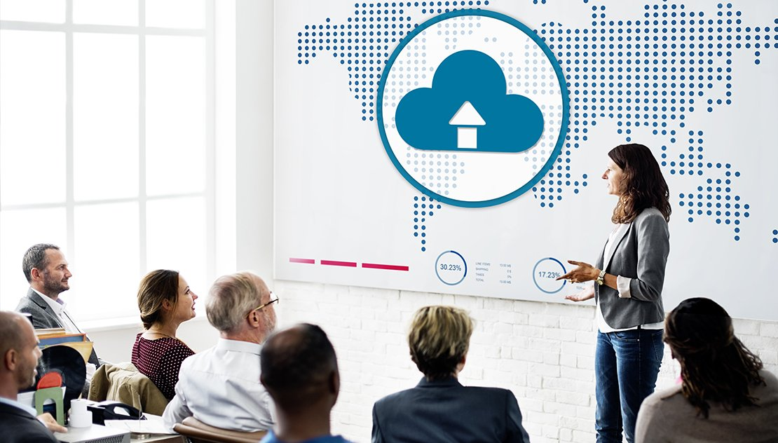 AWS Cloud Computing Concept discussing team