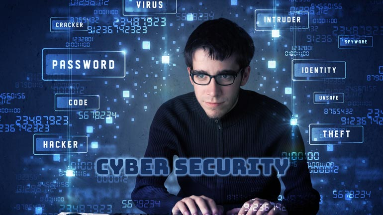 Cyber security Professional Protecting Enterprise Networks From hackers