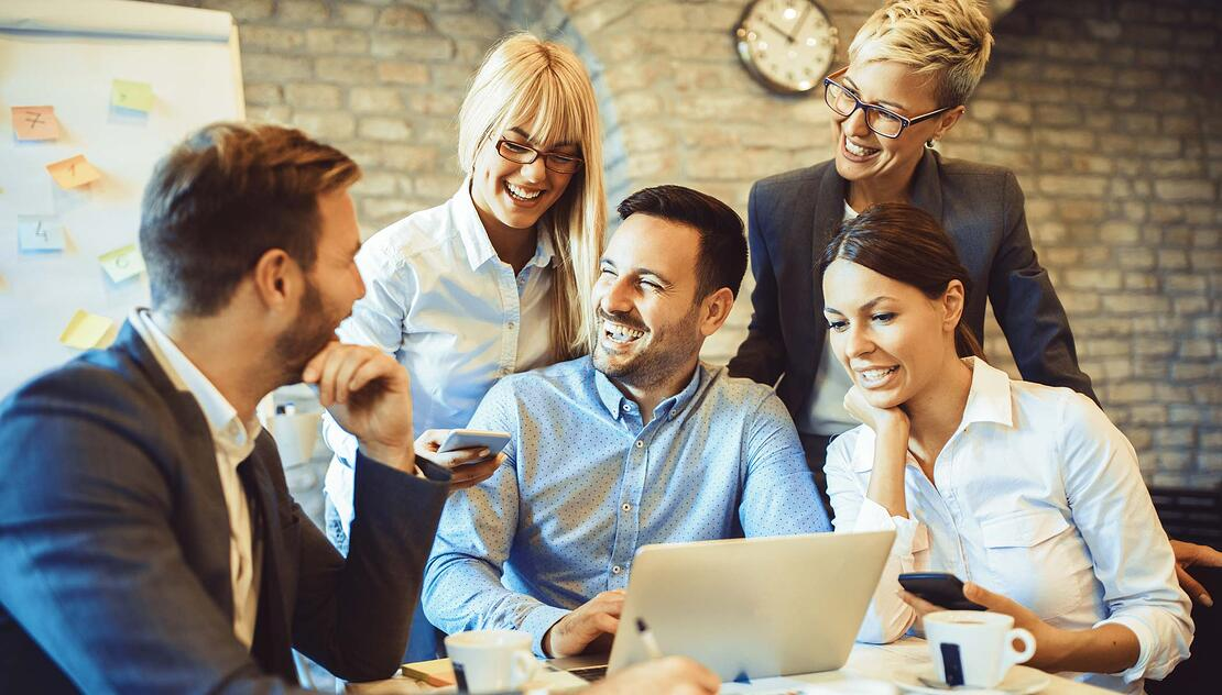 Happy Employees Staying Relevant in the Workplace