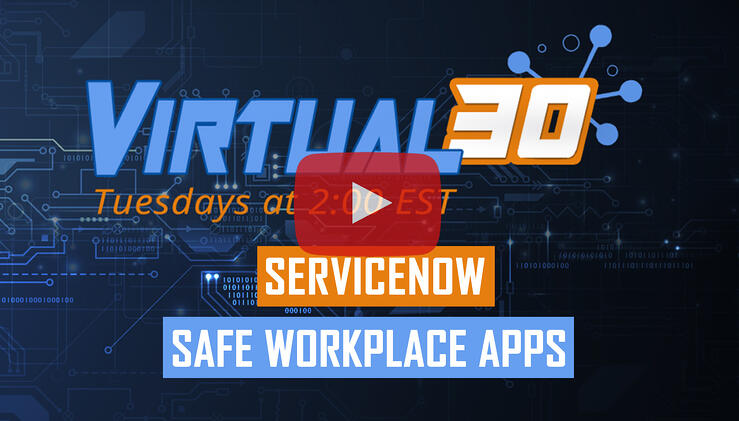 Live Demo of the ServiceNow Safe Workplace Apps