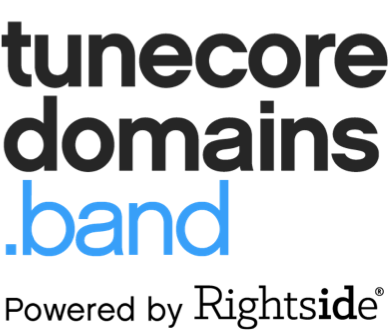 TuneCore Domains.band