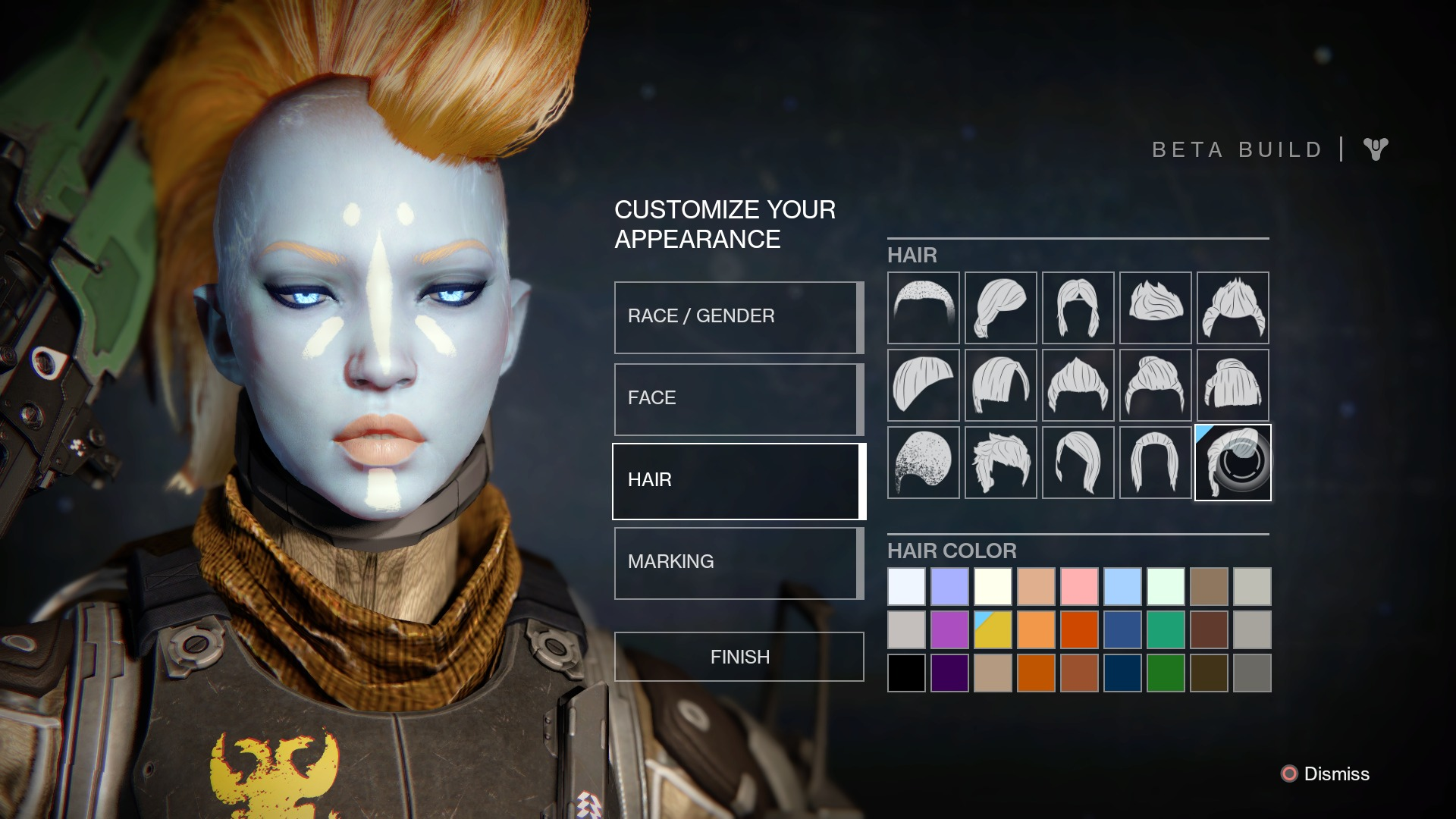 Brilliant The Terrible Epic Haircuts Of Destiny39S Character Creator Short Hairstyles For Black Women Fulllsitofus
