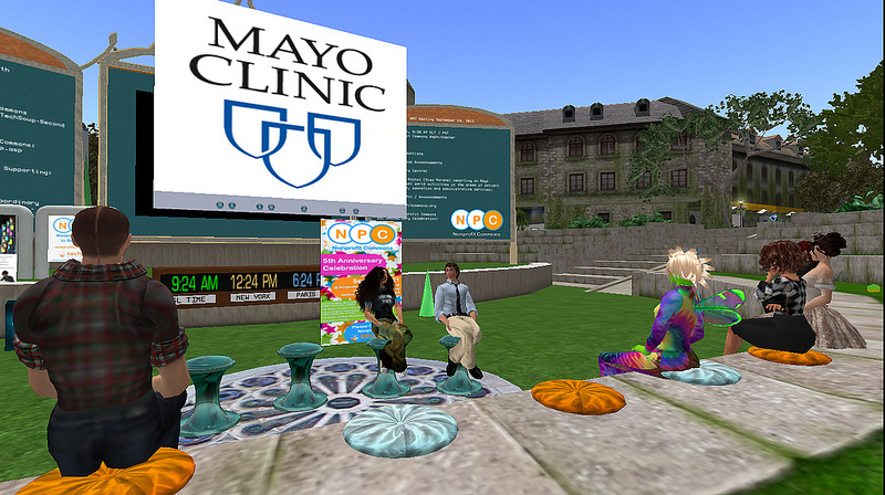 Mayo Clinic in second life