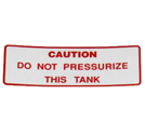 Decal Pressurize M21265