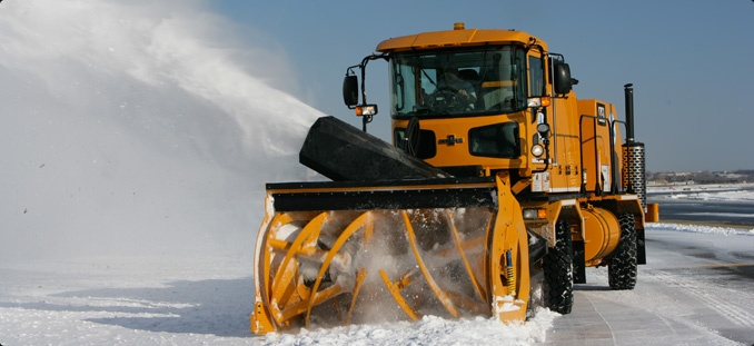 Snow Thrower Truck : H series blower oshkosh snow removal