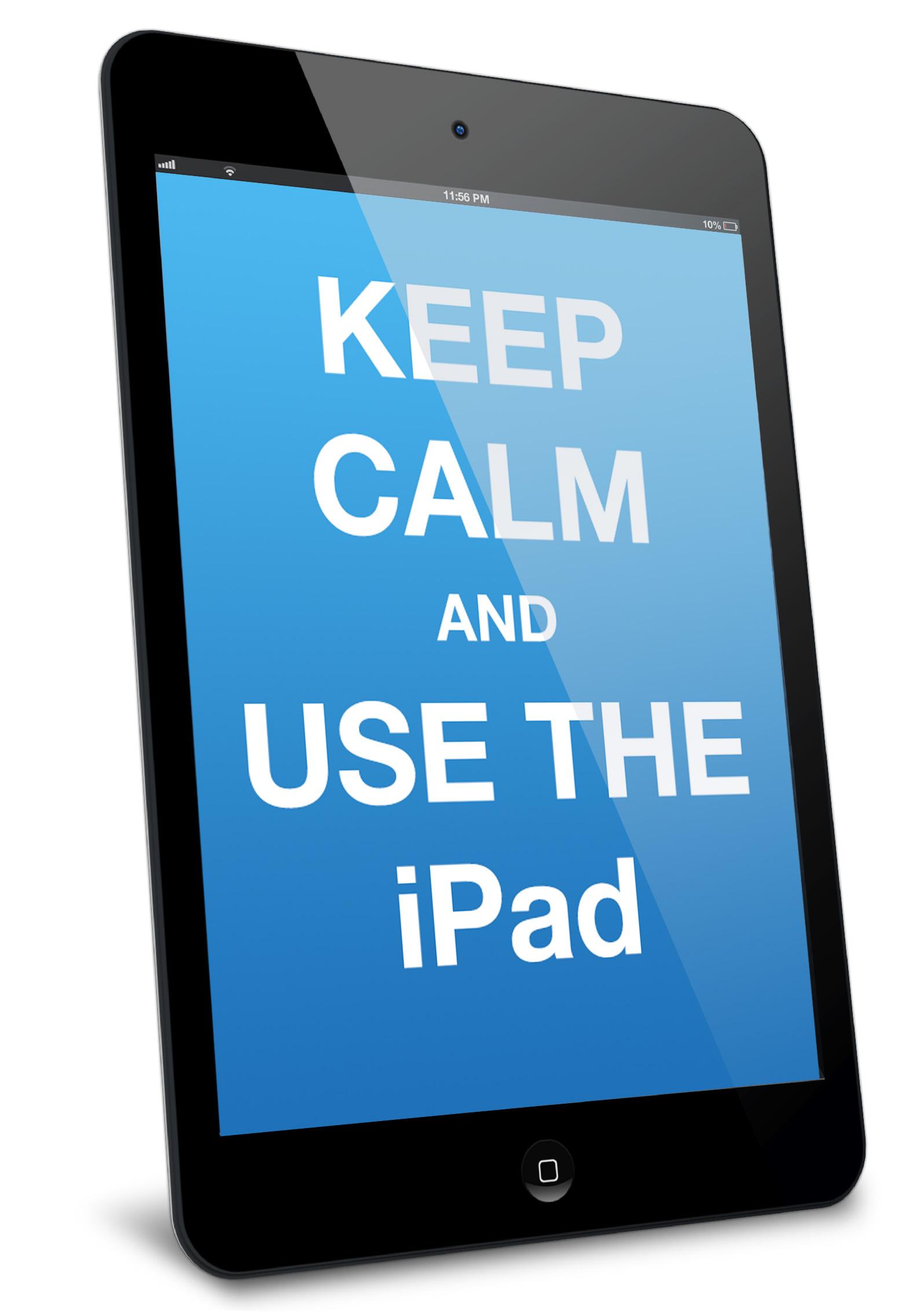 ipad keep calm
