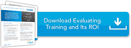 Evaluating Training and Its ROI