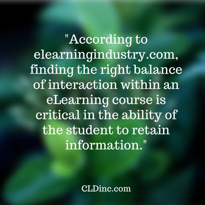 eLearning training