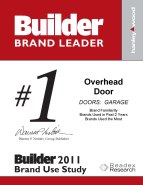 Overhead Door Brand Leader Award 2011 resized 143