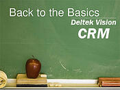 back to basics crm