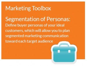 Marketing toolbox - Segmentation of Personas