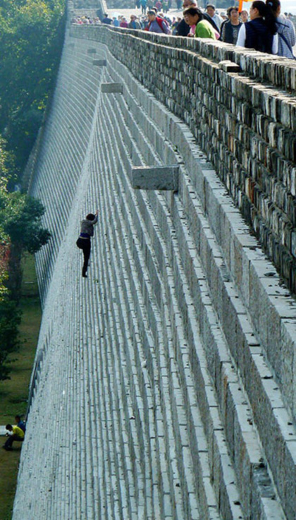 china business development scale the wall