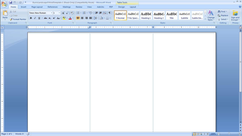 4 column brochure template - search results for blank six column template calendar 2015