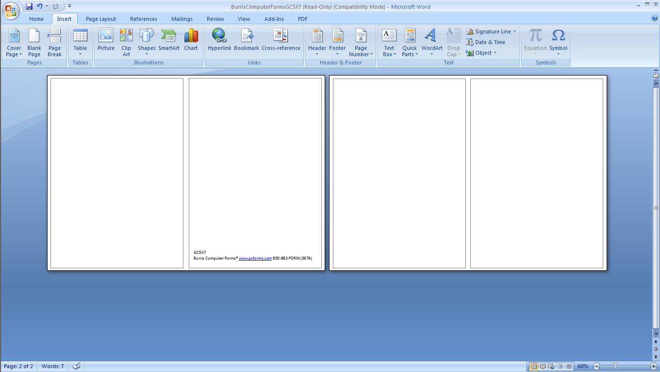Free Blank Tri Fold Brochure Templates For Microsoft Word  Free Blank Tri Fold Brochure Templates