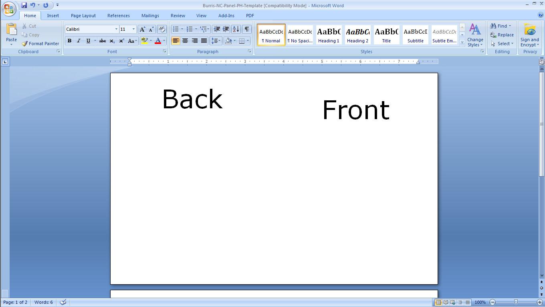 blank greeting card template microsoft word koni polycode co
