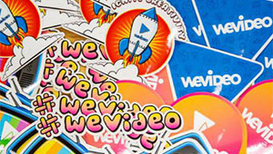 NEW WeVideo stickers