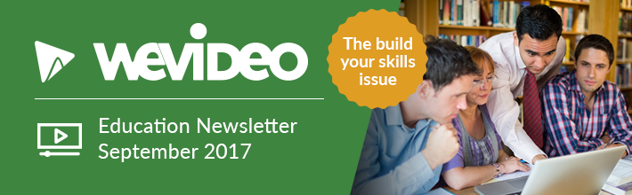 WeVideo September Education Newsletter