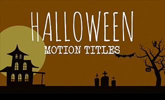 Halloween Motion Titles