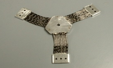 aluminum thermal strap. heat strap, thermal straps