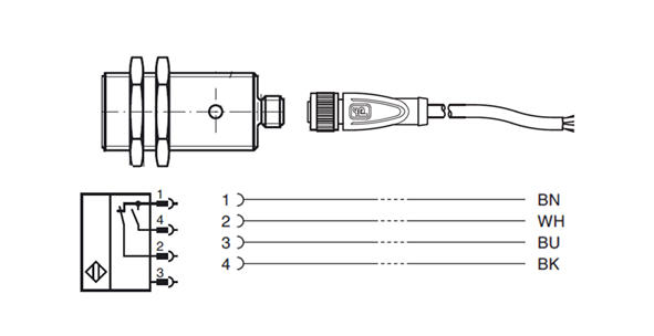 4 wire proximity cable wiring diagram 4 wire alternator