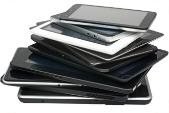tablet pile