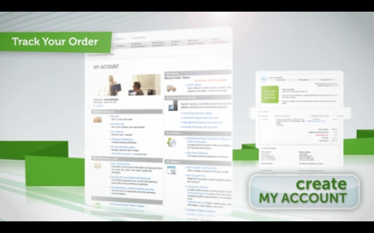 Create My Account SmartVideo Call to Action