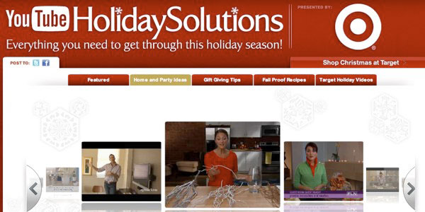 Holiday Video Content YouTube SmartVideo