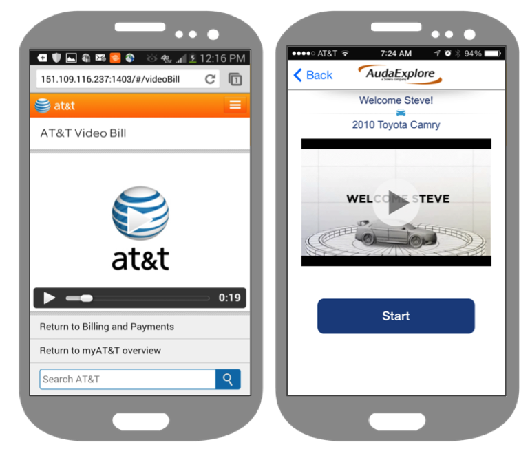 SmartVideo in mobile apps