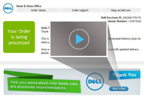 Dell Email Customer Engagement