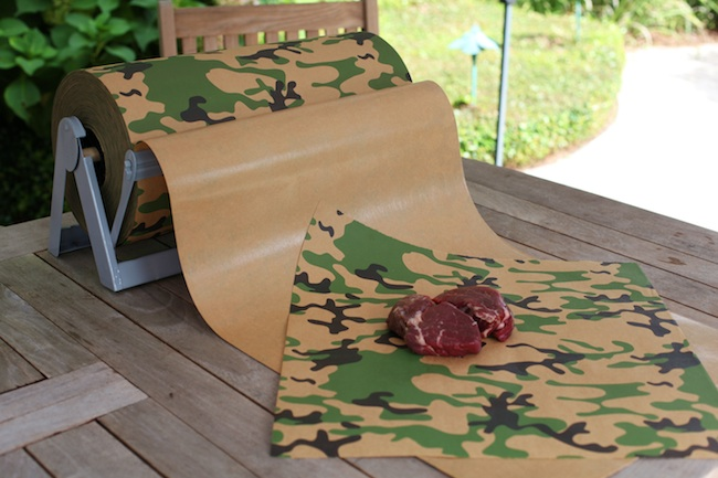 Camo freezer paper for hunters