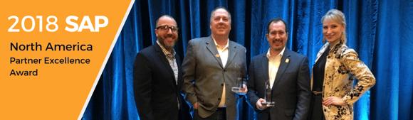 Navigator Business Solutions Receives SAP® North America Partner Excellence Award 2018 for SAP Cloud Partner Program