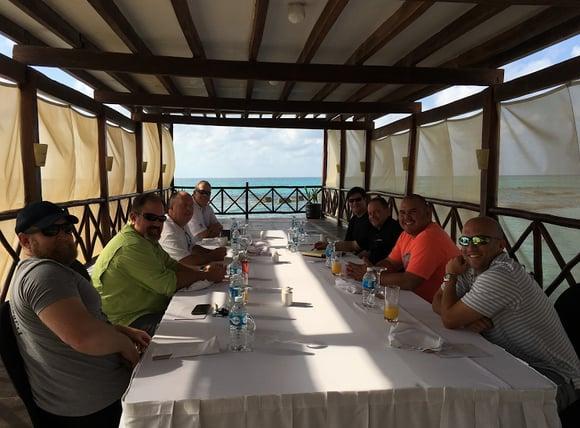 Navigator Team celebrates 2016 President's Club in Cancun