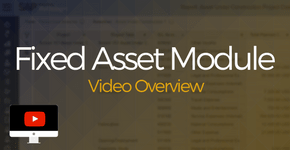 Fixed Asset Module Video