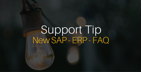 New SAP ERP FAQ Page