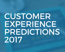 Customer Experience Predictions For 2017 #SMB