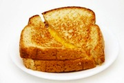 Grilled cheese perfection.