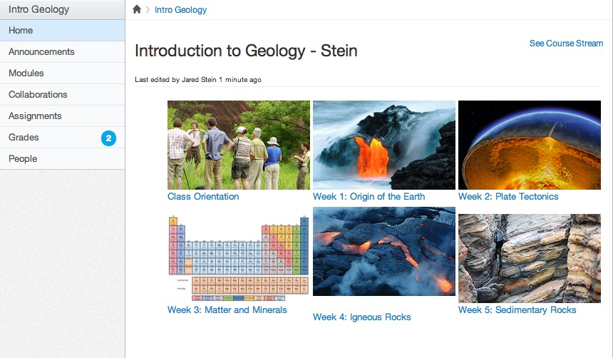 A Page I'll Design Myself home page - Higher Education