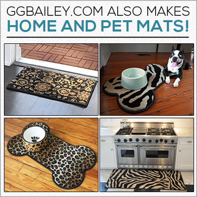 Gg Bailey S Home And Pet Mats Are Top Quality Too