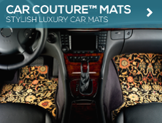 Car Couture™ Luxury Auto Mats from GGBailey.com
