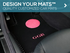 Order Design Your Mats™ Auto Mats from GGBailey.com