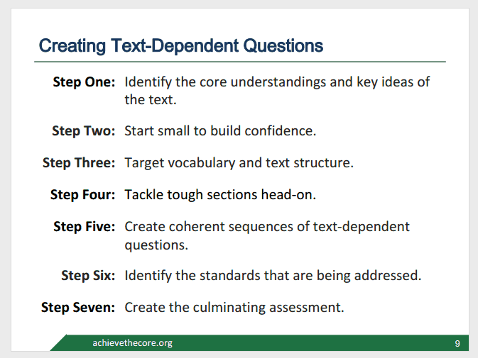 Creating_Text_Dependent_Questions